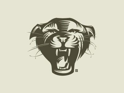 yuri galitsyn tiger logo design