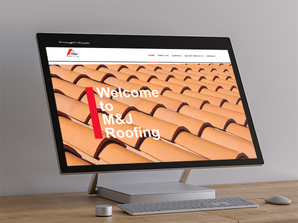 M&J Roofing Website